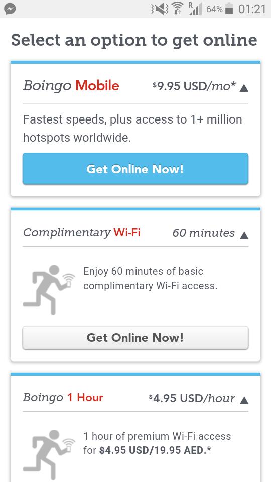 Paket Internet di Dubai International Airport
